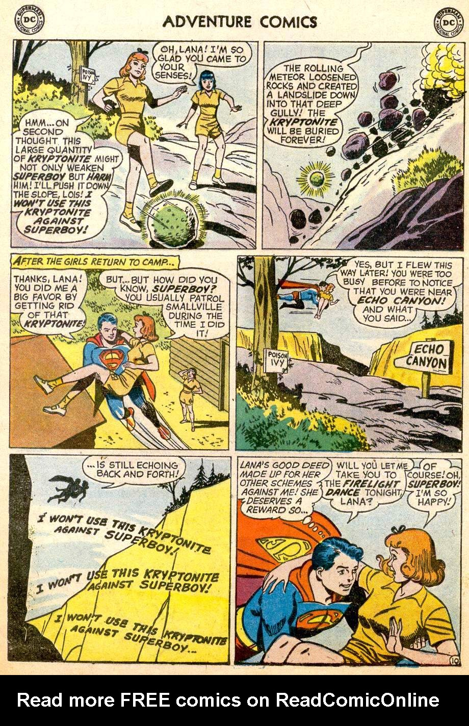 Read online Adventure Comics (1938) comic -  Issue #261 - 12