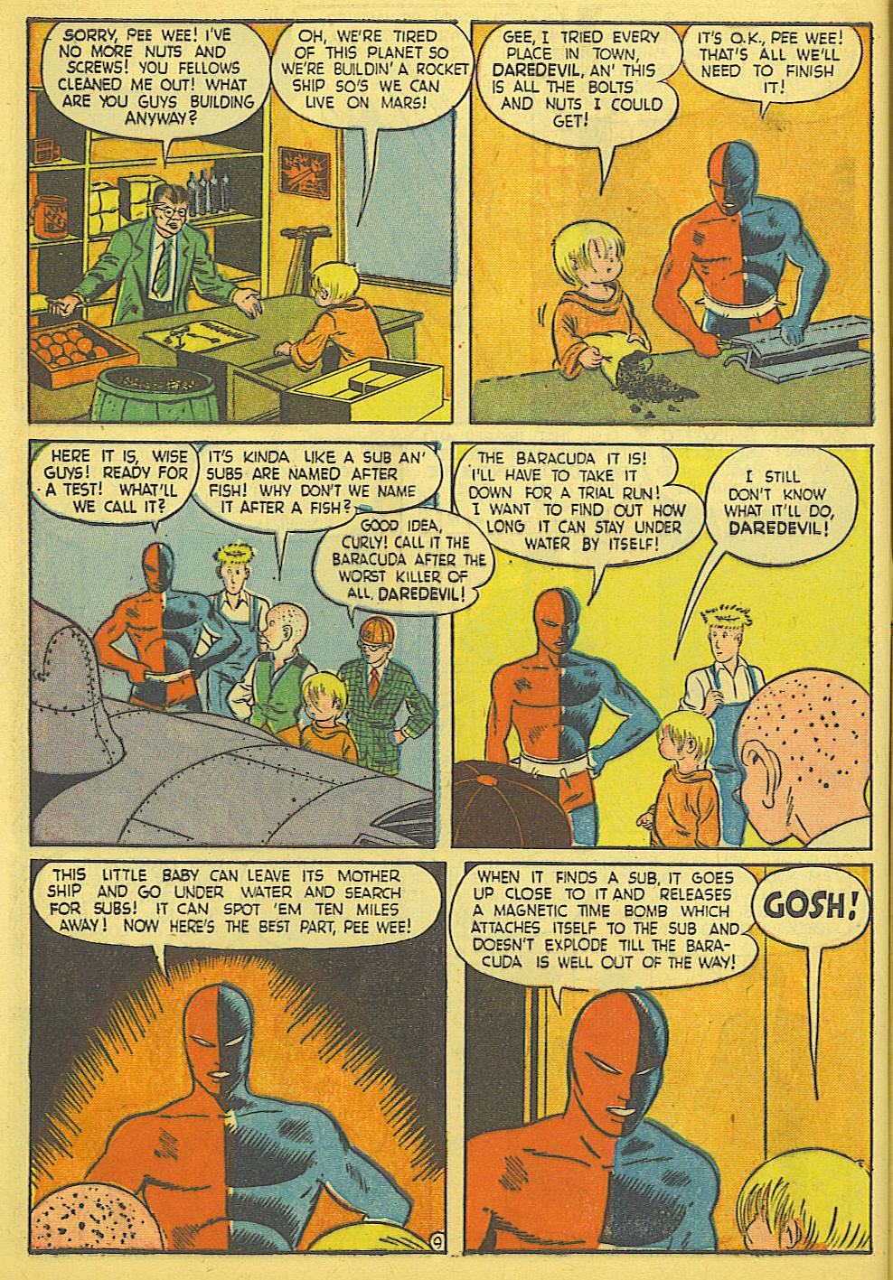 Daredevil (1941) issue 21 - Page 10