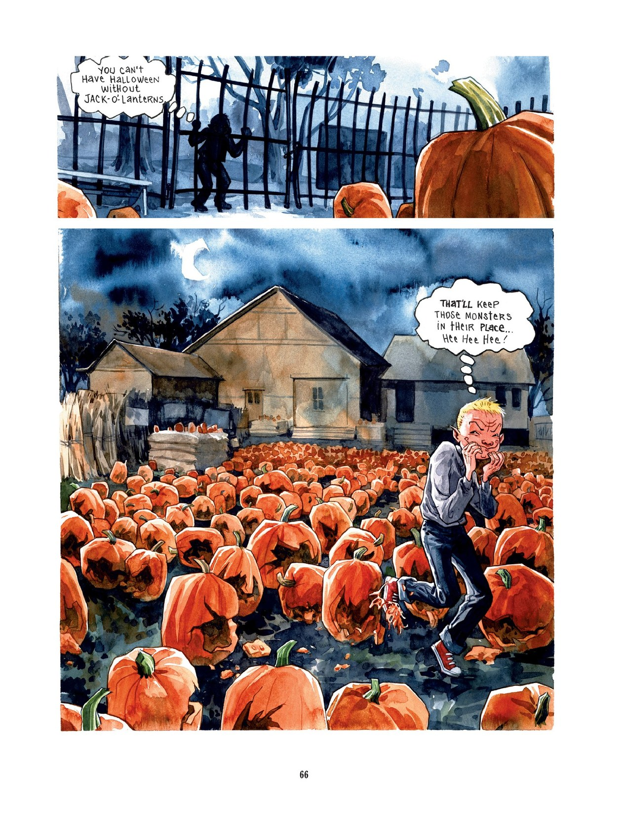 Read online Scary Godmother comic -  Issue # TPB - 66