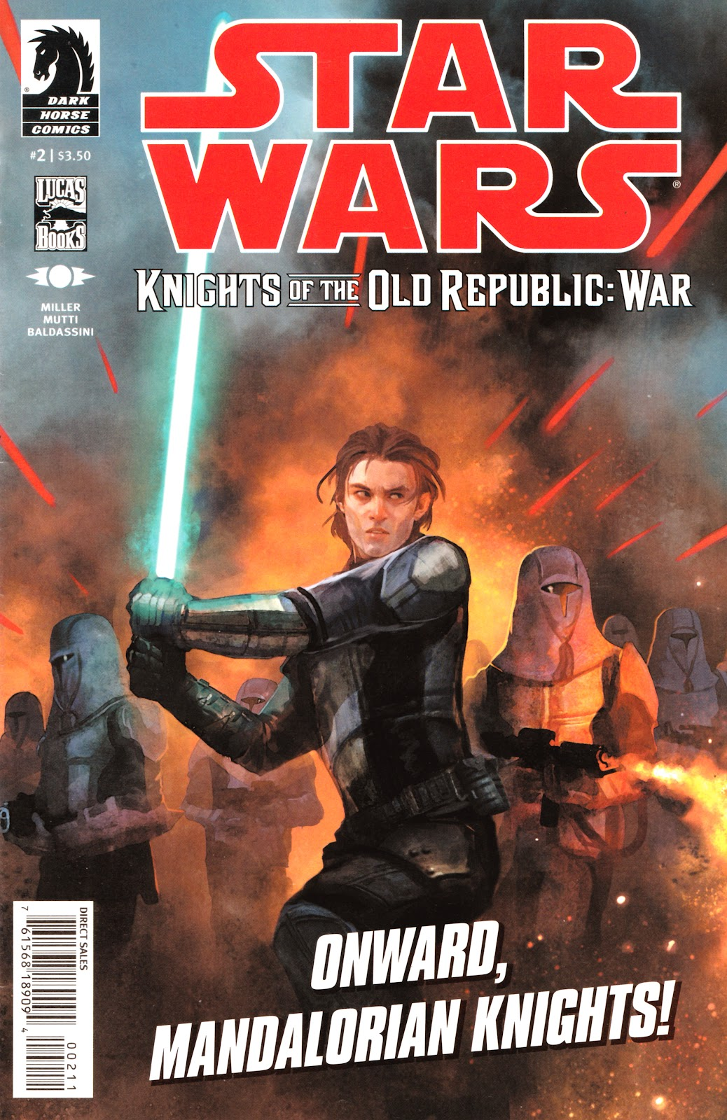 Star Wars: Knights Of The Old Republic - War 2 Page 1