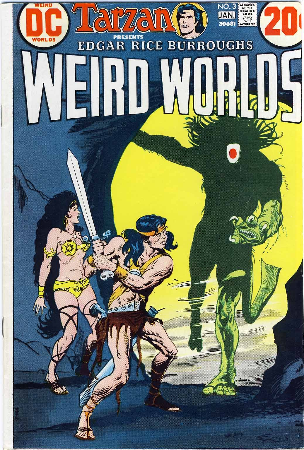 Weird Worlds (1972) 3 Page 1