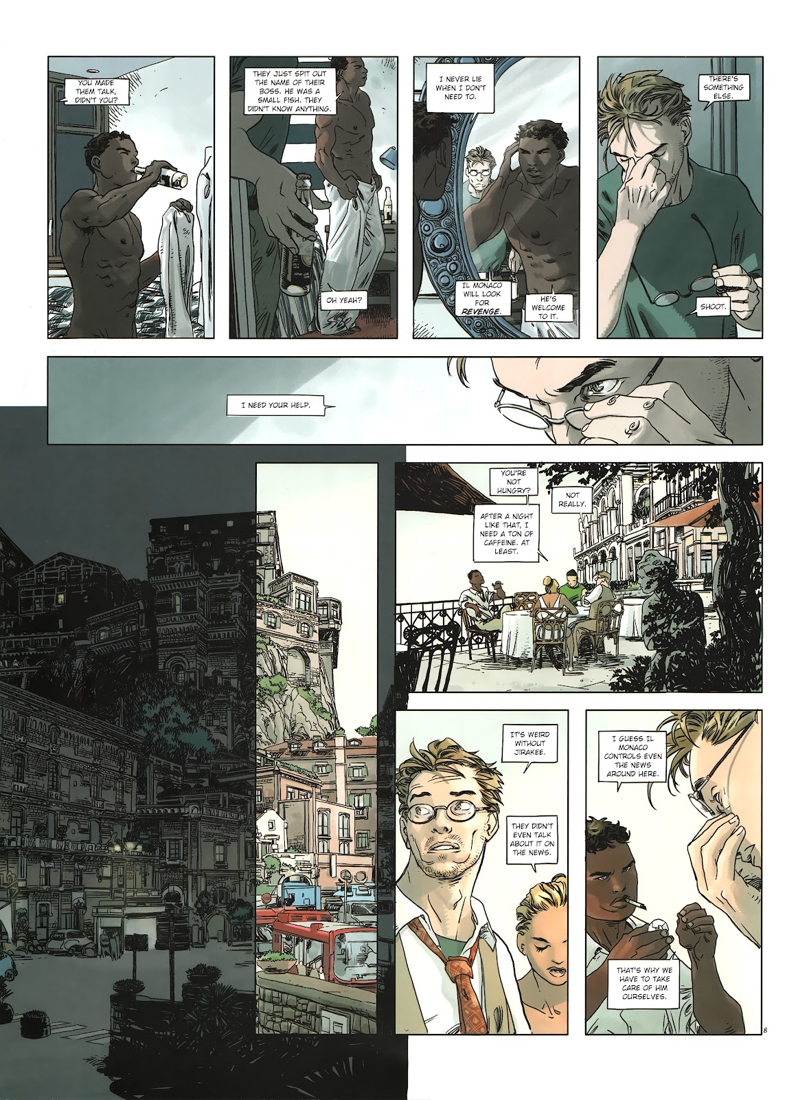 Read online Cutting Edge (2013) comic -  Issue #2 - 10