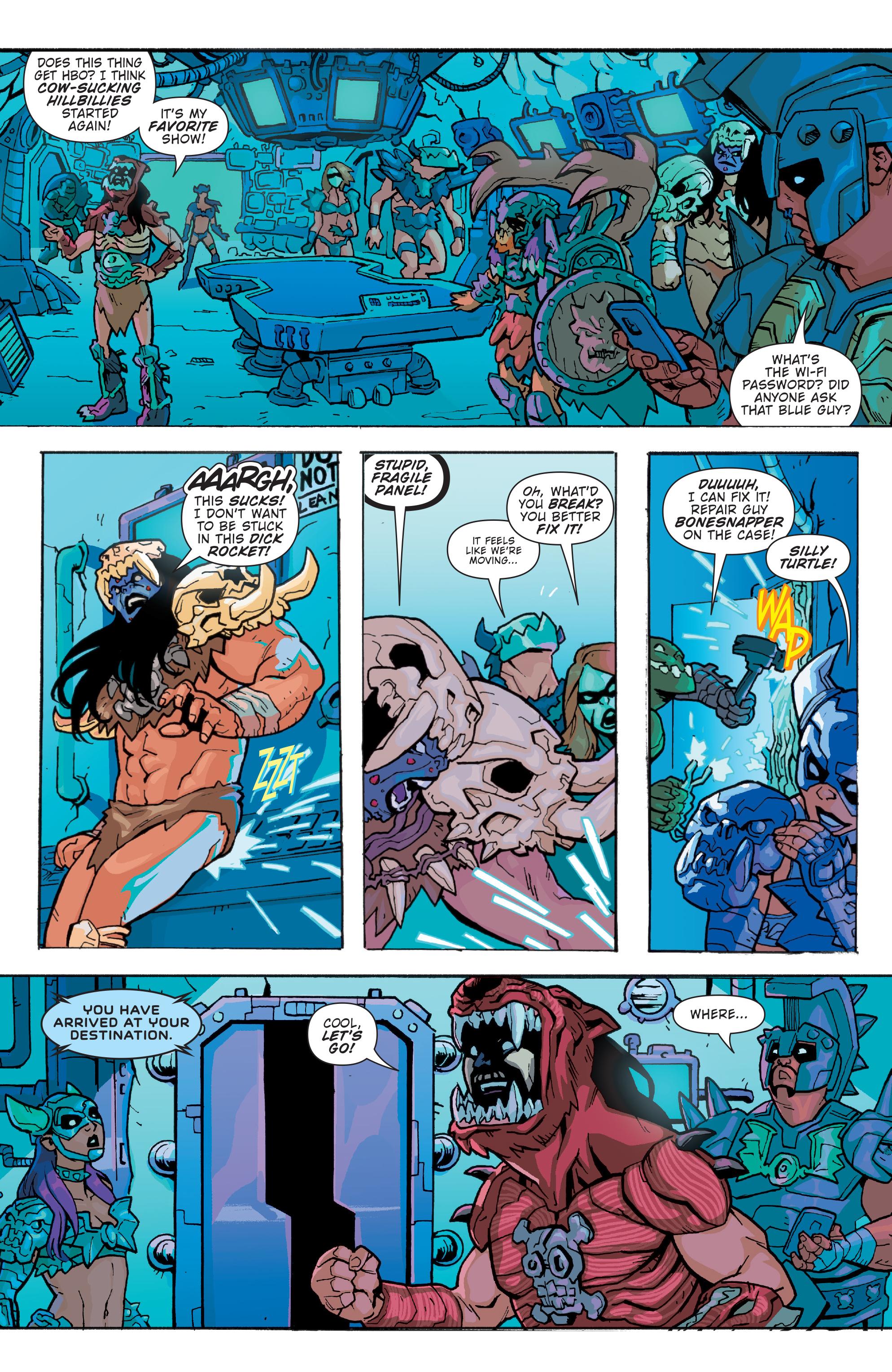 Read online Gwar: Orgasmageddon comic -  Issue #1 - 9