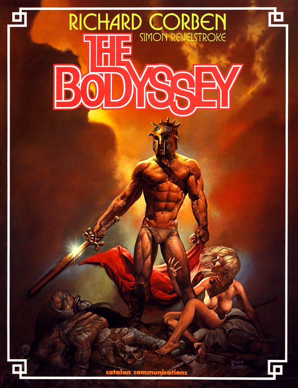 Read online The Bodyssey comic -  Issue # Full - 1