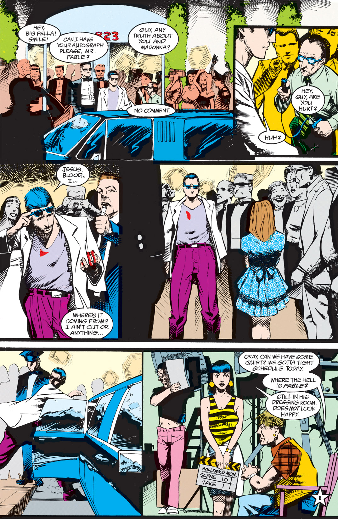 Read online Shade, the Changing Man comic -  Issue #5 - 10