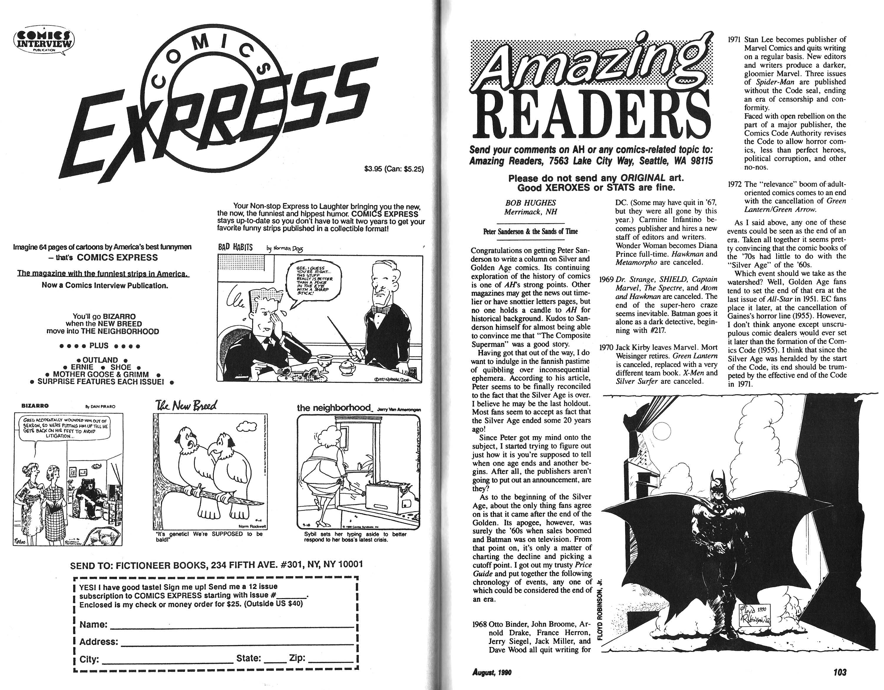 Read online Amazing Heroes comic -  Issue #182 - 52