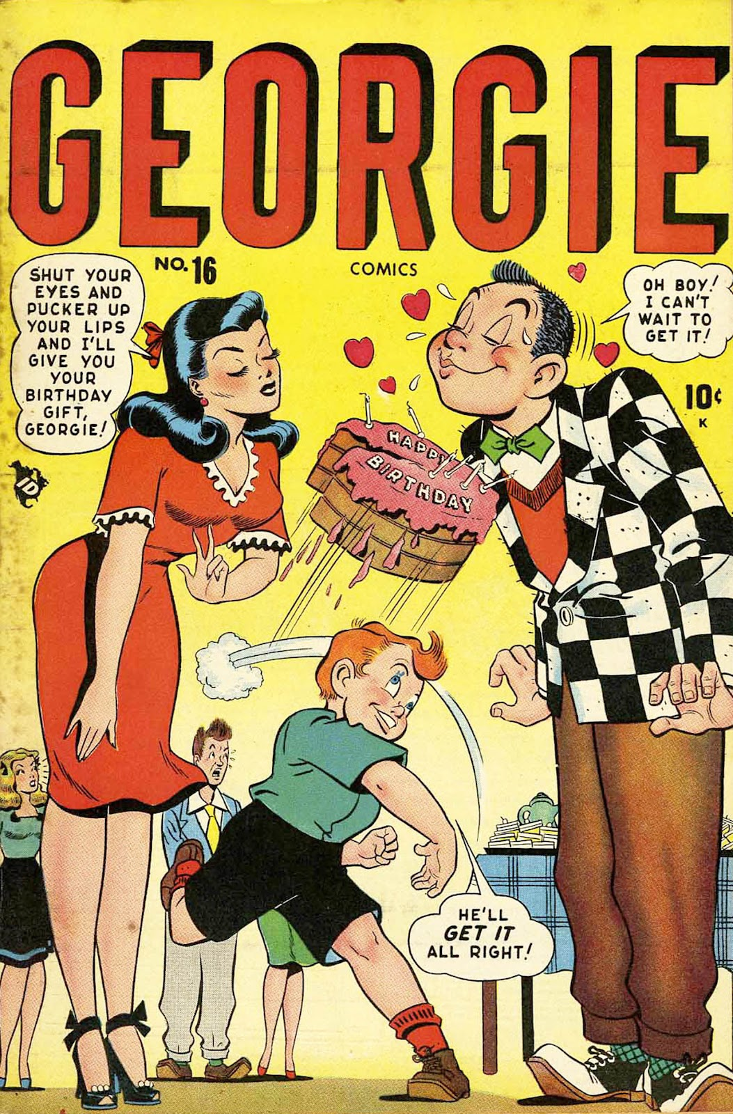 Georgie Comics (1945) issue 16 - Page 1
