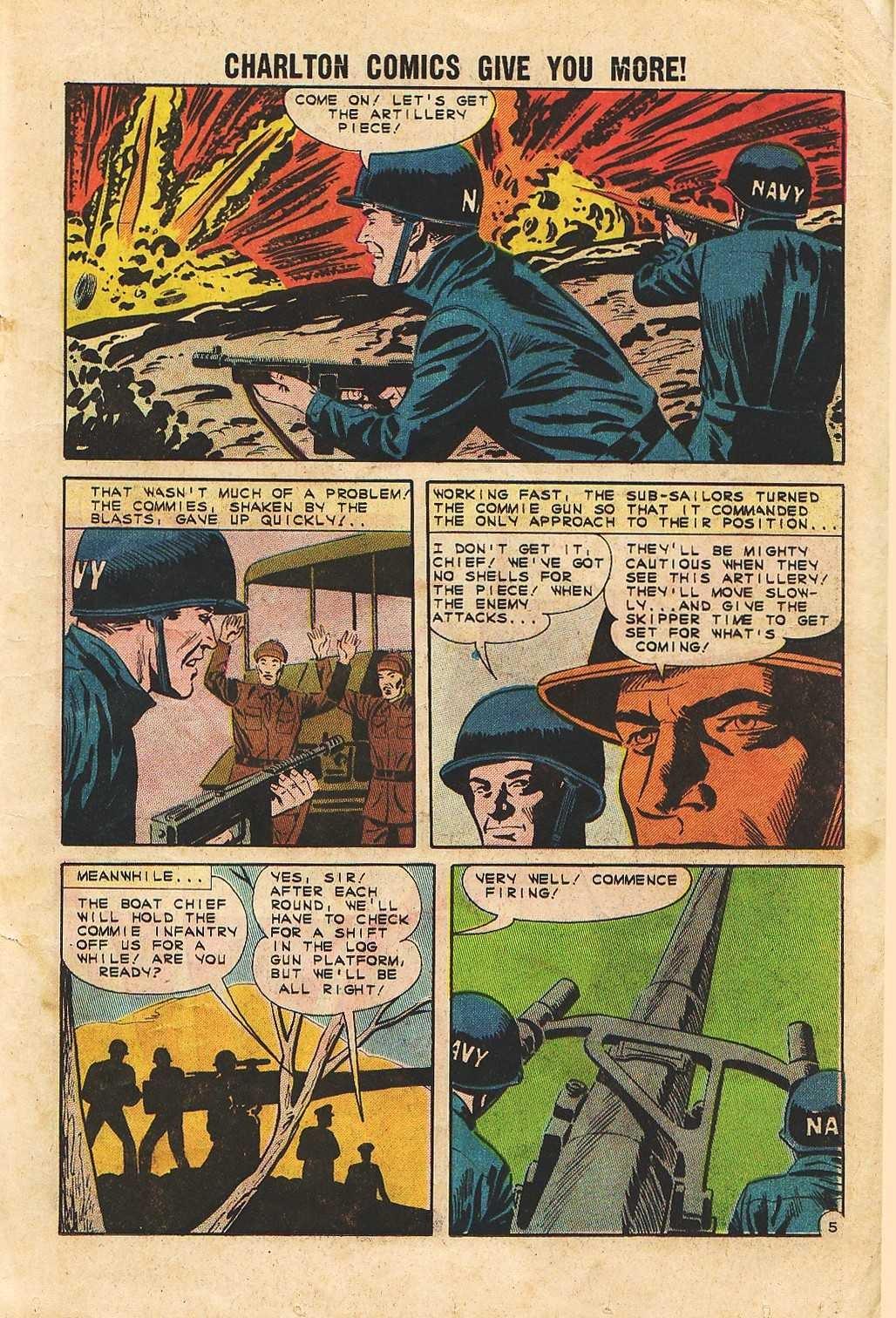 Read online Fightin' Navy comic -  Issue #105 - 19