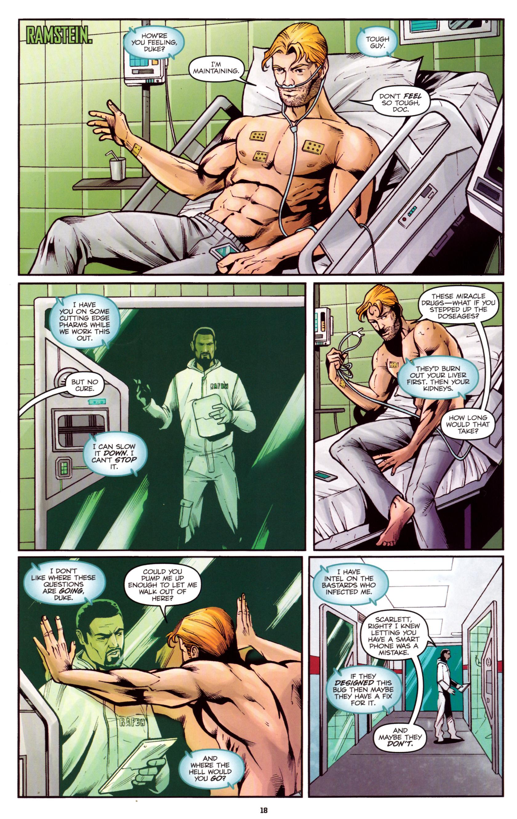 Read online G.I. Joe: Snake Eyes comic -  Issue #5 - 21