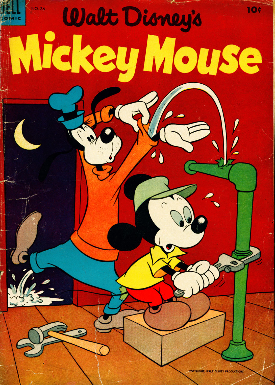 Walt Disney's Mickey Mouse issue 36 - Page 1