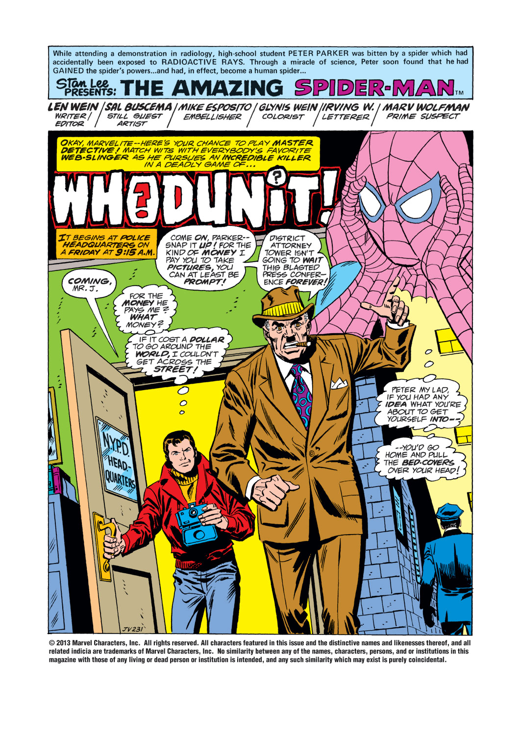 The Amazing Spider-Man (1963) 155 Page 1
