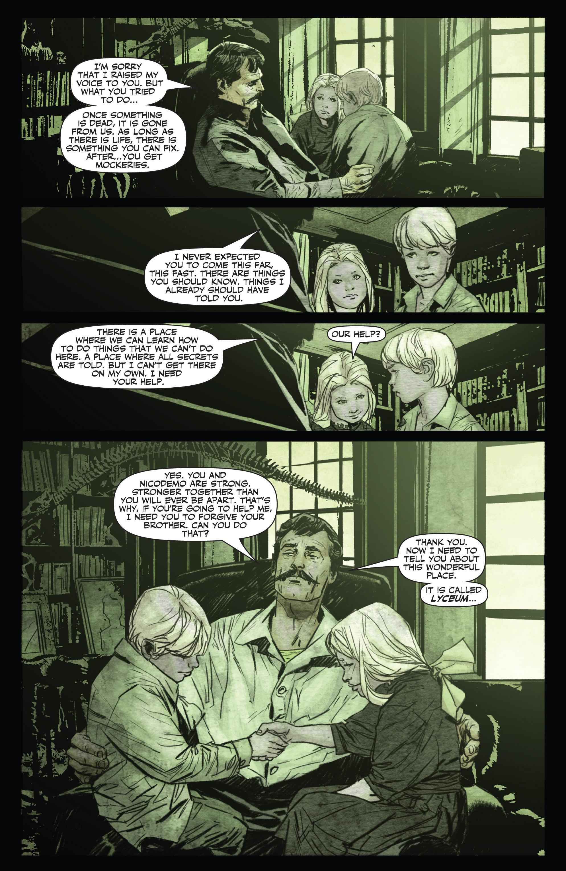 Read online Shadowman (2012) comic -  Issue #0 - 12
