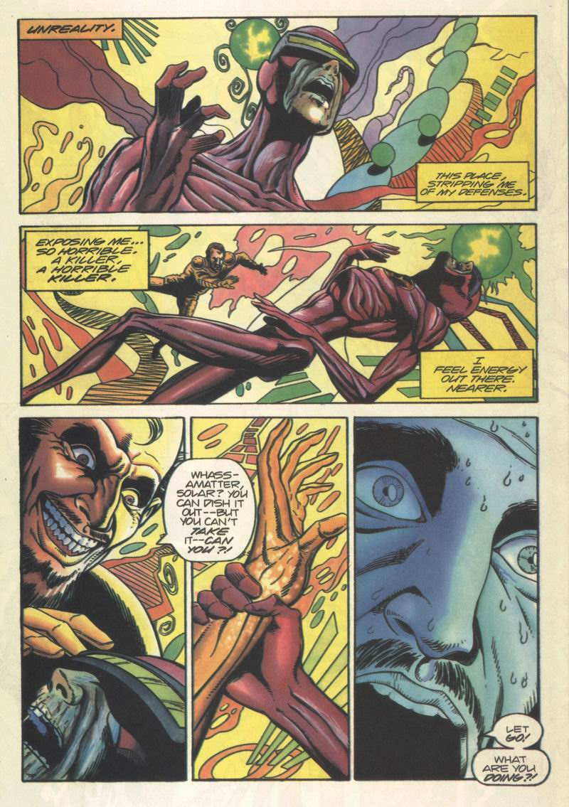 Read online Solar, Man of the Atom comic -  Issue #37 - 7