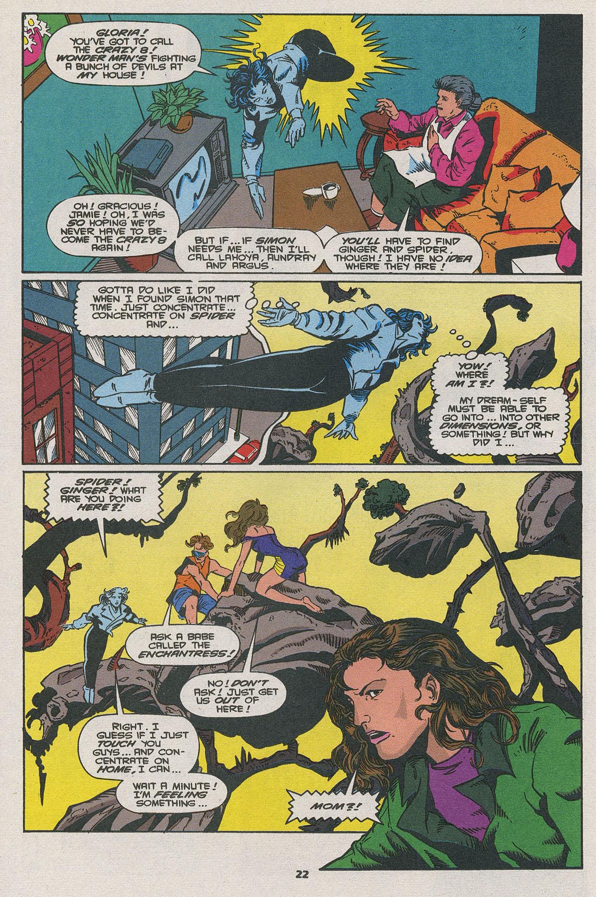 Read online Wonder Man (1991) comic -  Issue #25 - 17