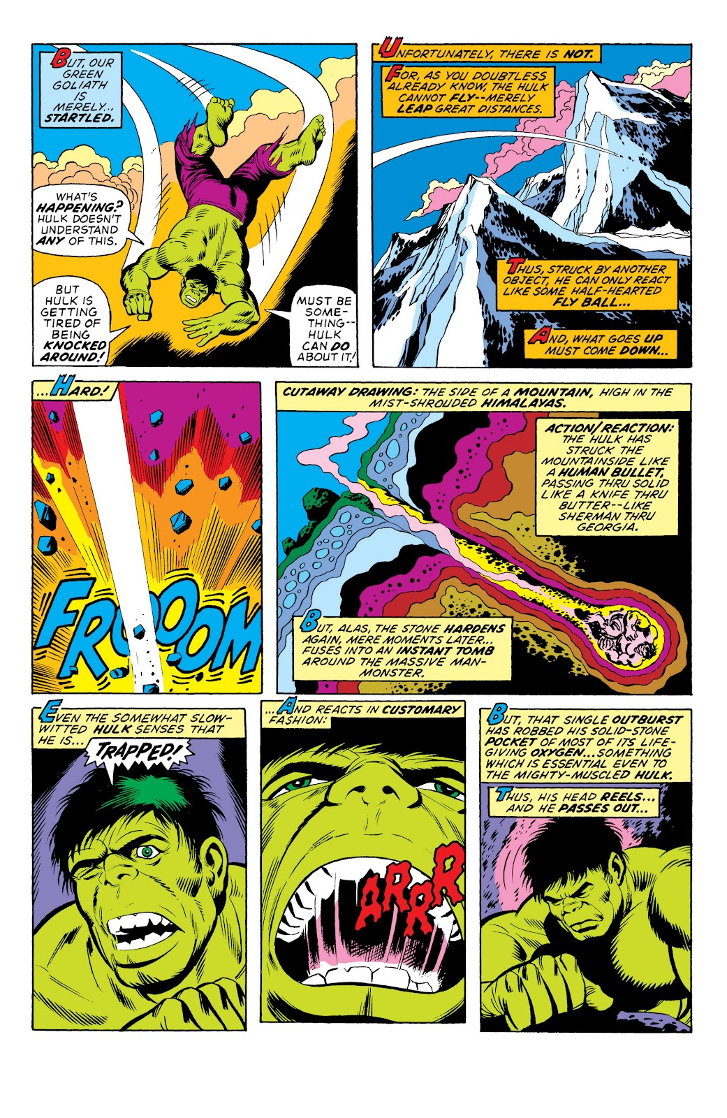 Read online Marvel Masterworks: The Incredible Hulk comic -  Issue # TPB 10 (Part 1) - 93