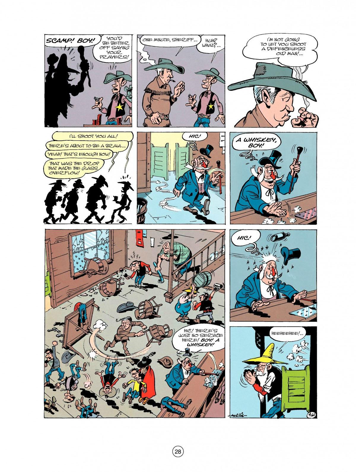 Read online A Lucky Luke Adventure comic -  Issue #27 - 29