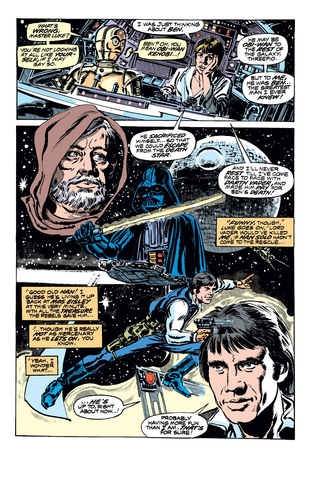 Read online Star Wars Legends: The Original Marvel Years - Epic Collection comic -  Issue # TPB 1 (Part 2) - 49