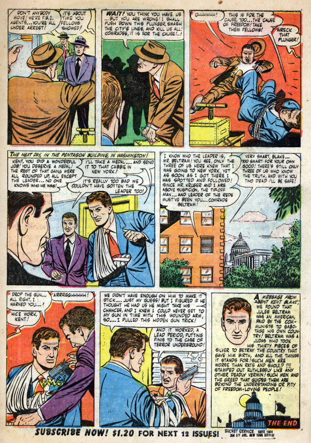 Kent Blake of the Secret Service issue 4 - Page 9