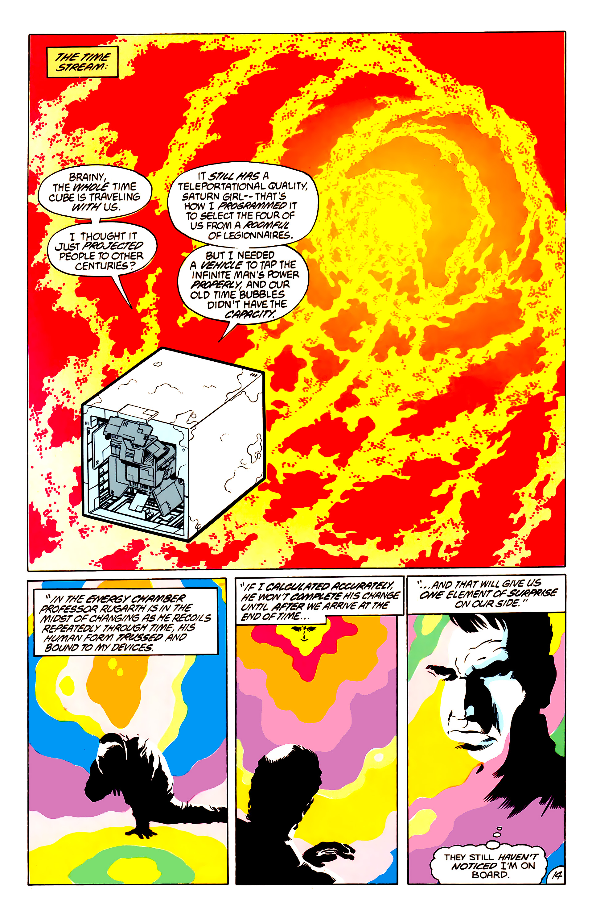 Legion of Super-Heroes (1984) 50 Page 14