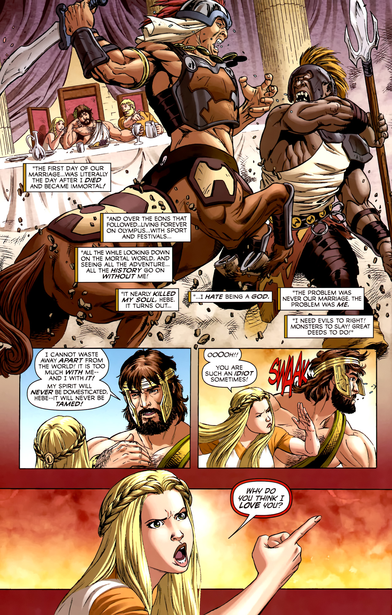 Read online Assault on New Olympus Prologue comic -  Issue #Assault on New Olympus Prologue Full - 25