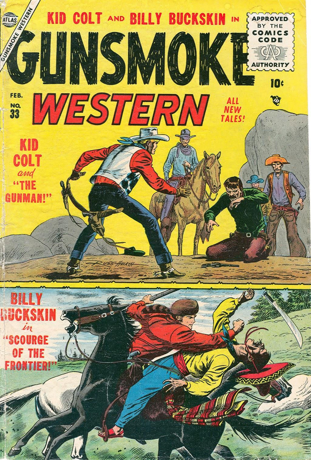 Gunsmoke Western issue 33 - Page 1