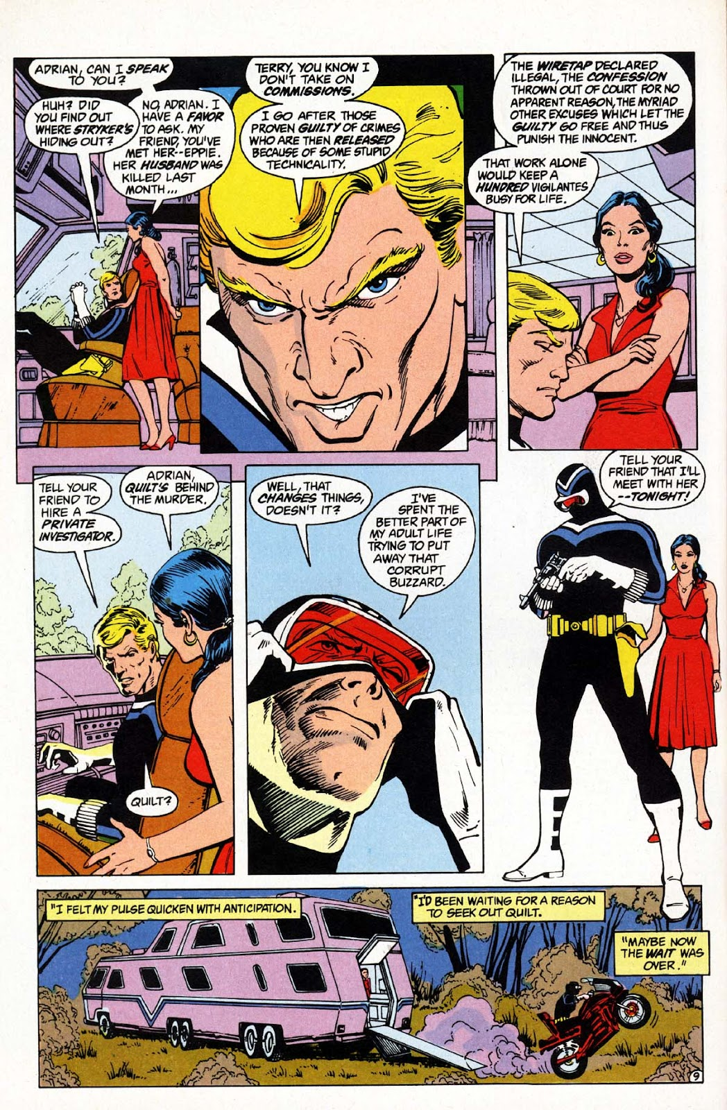 Vigilante (1983) issue 1 - Page 10