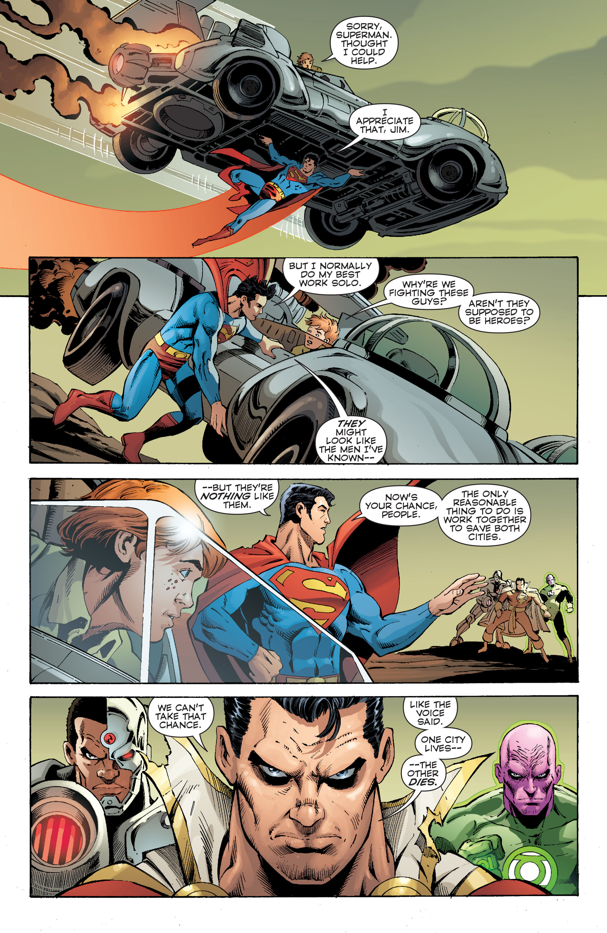 Read online Convergence Superman comic -  Issue #2 - 5