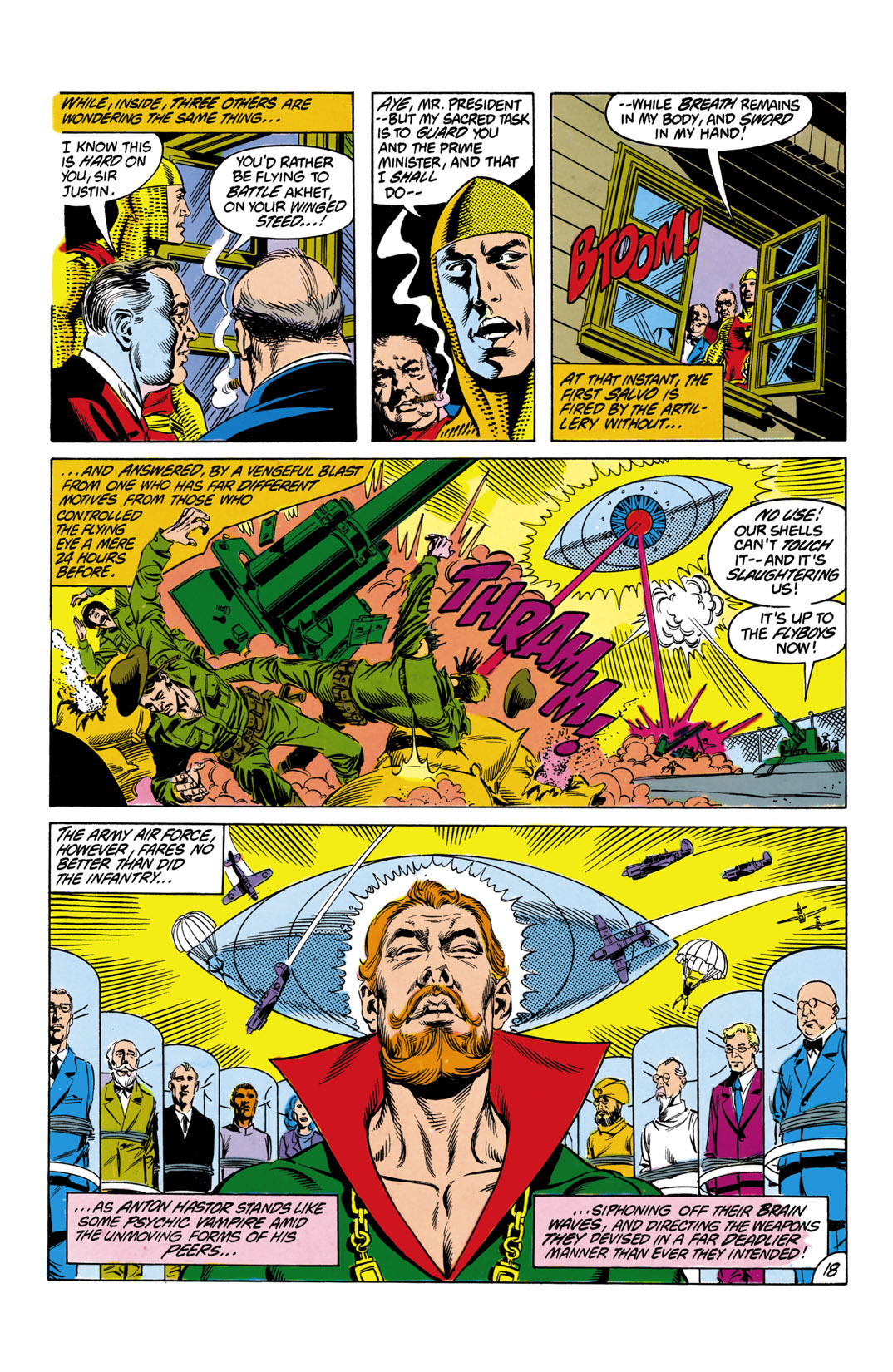 Read online All-Star Squadron comic -  Issue #12 - 19