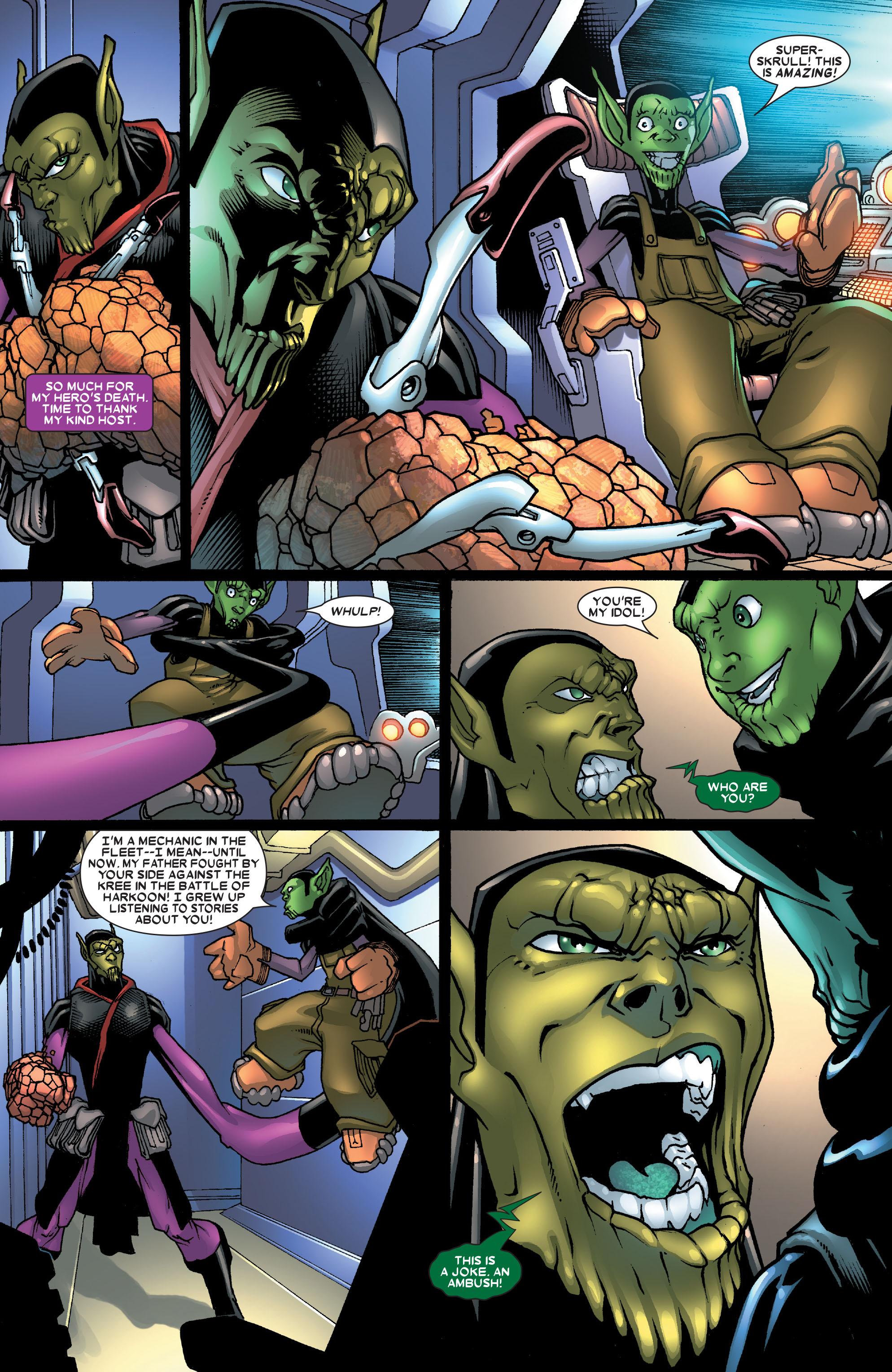 Read online Annihilation: Super-Skrull comic -  Issue #1 - 18