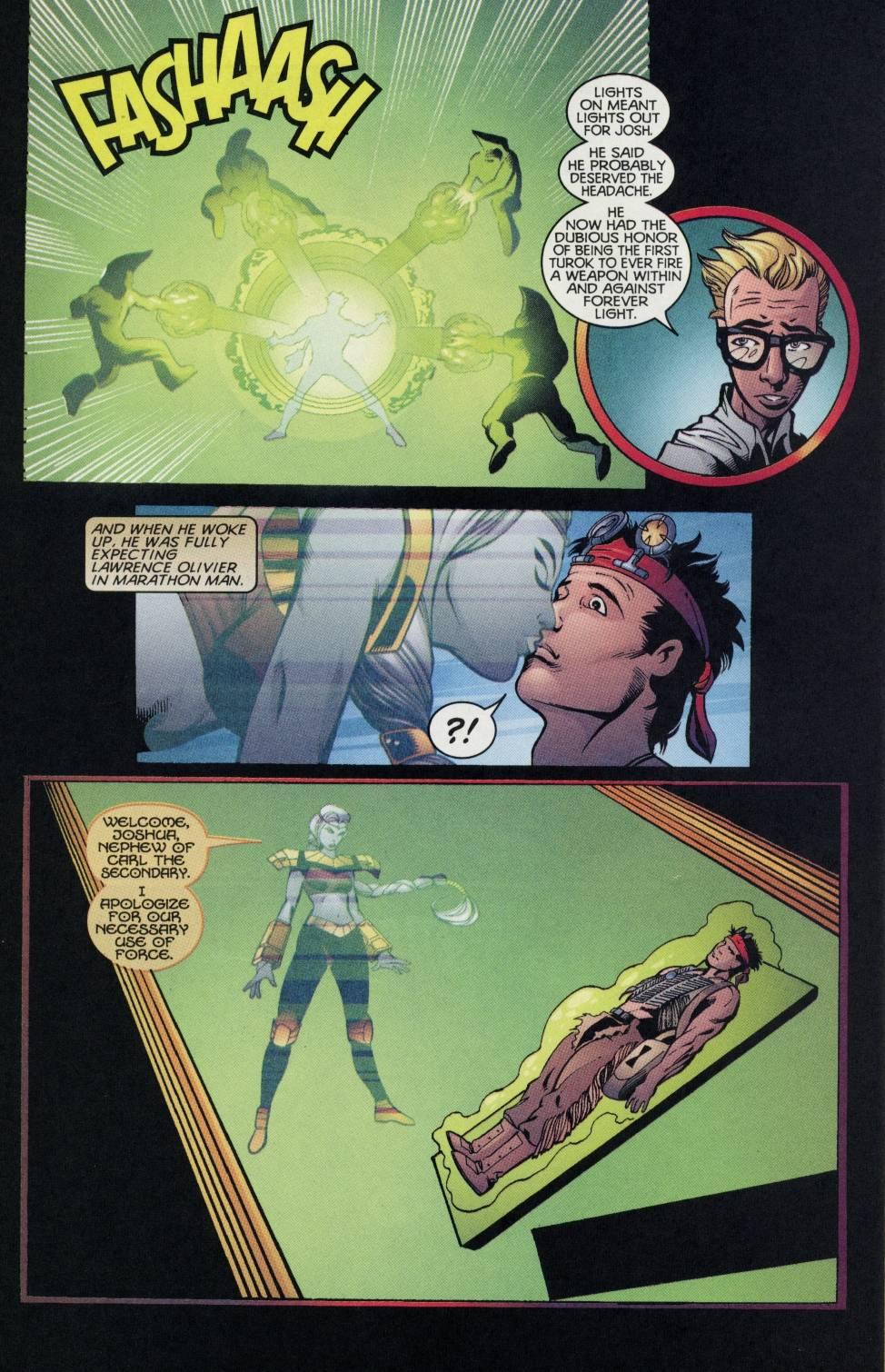 Read online Turok comic -  Issue #4 - 17