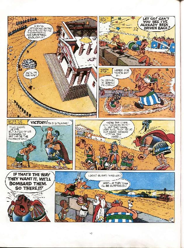 Read online Asterix comic -  Issue #6 - 37