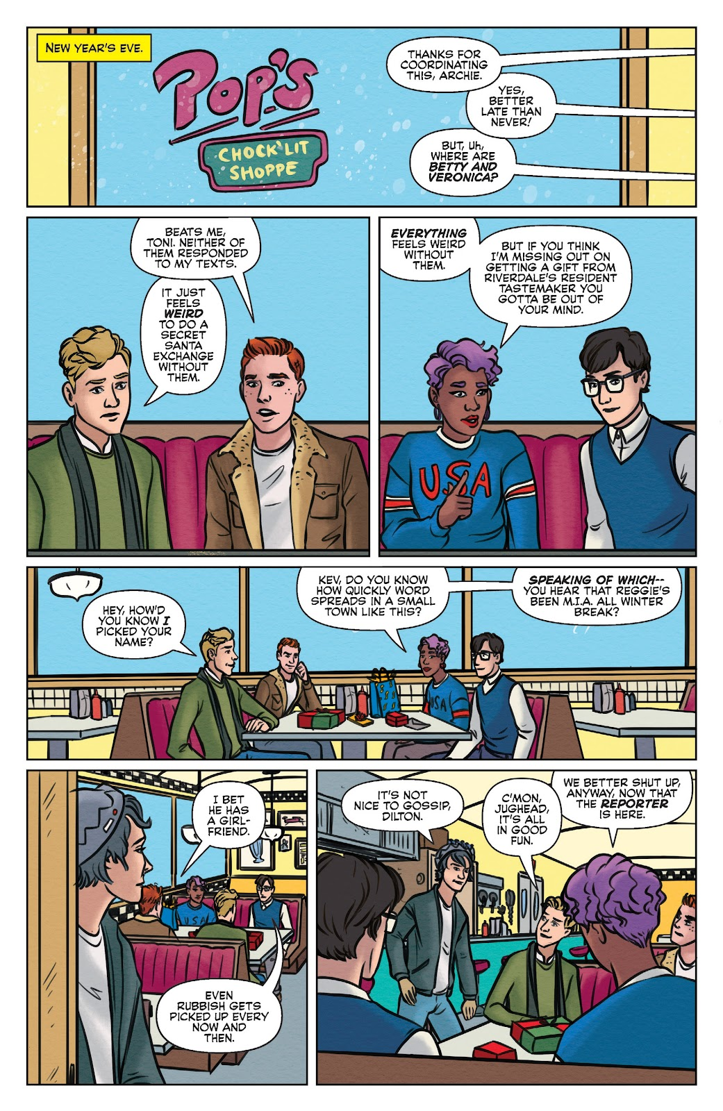 Read online Betty & Veronica (2019) comic -  Issue #3 - 5
