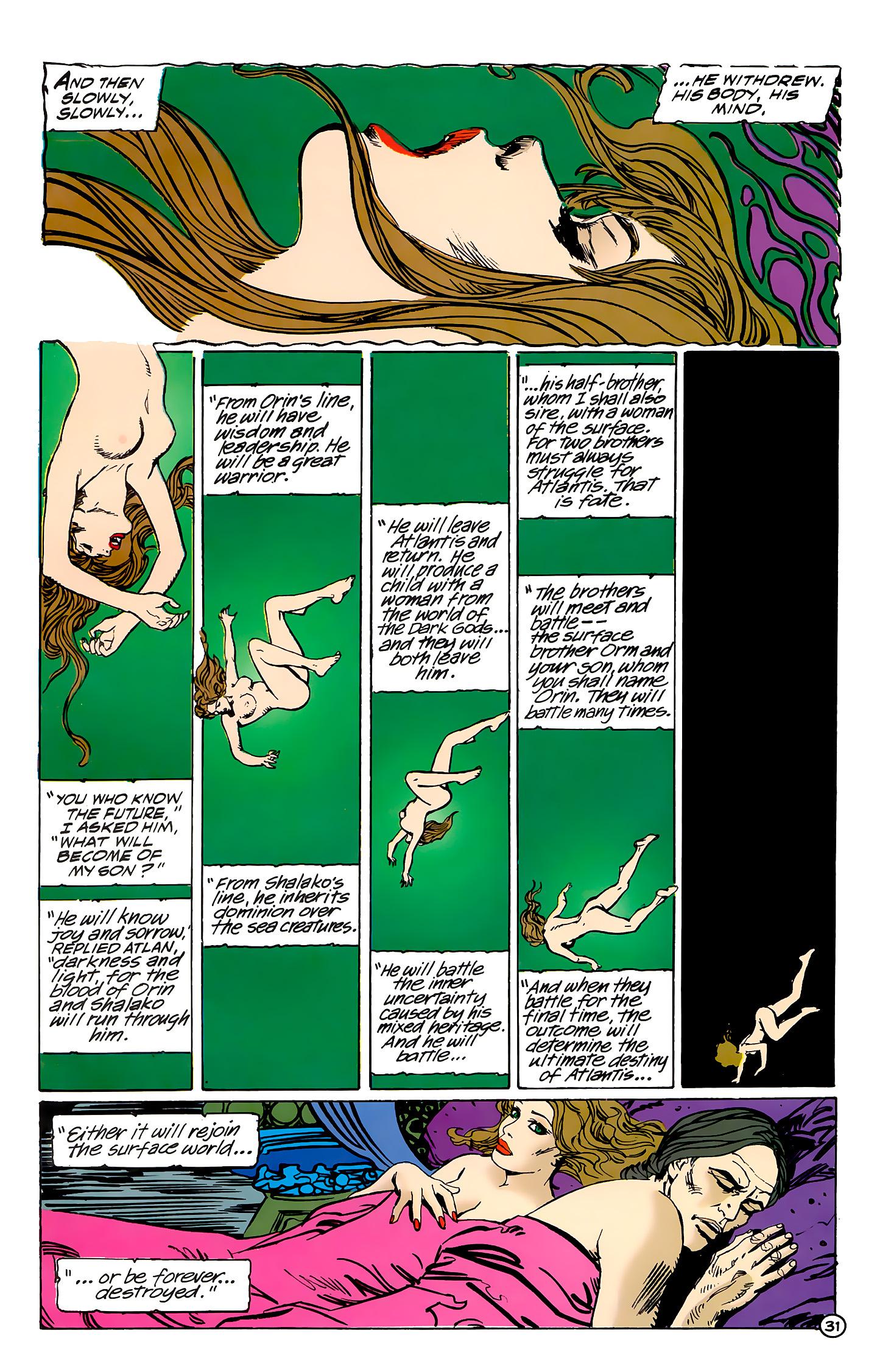 Read online Atlantis Chronicles comic -  Issue #7 - 32