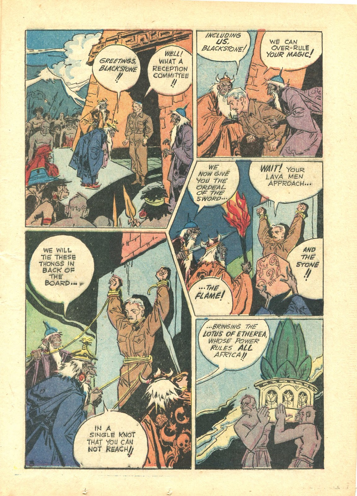Read online Super-Magician Comics comic -  Issue #21 - 23