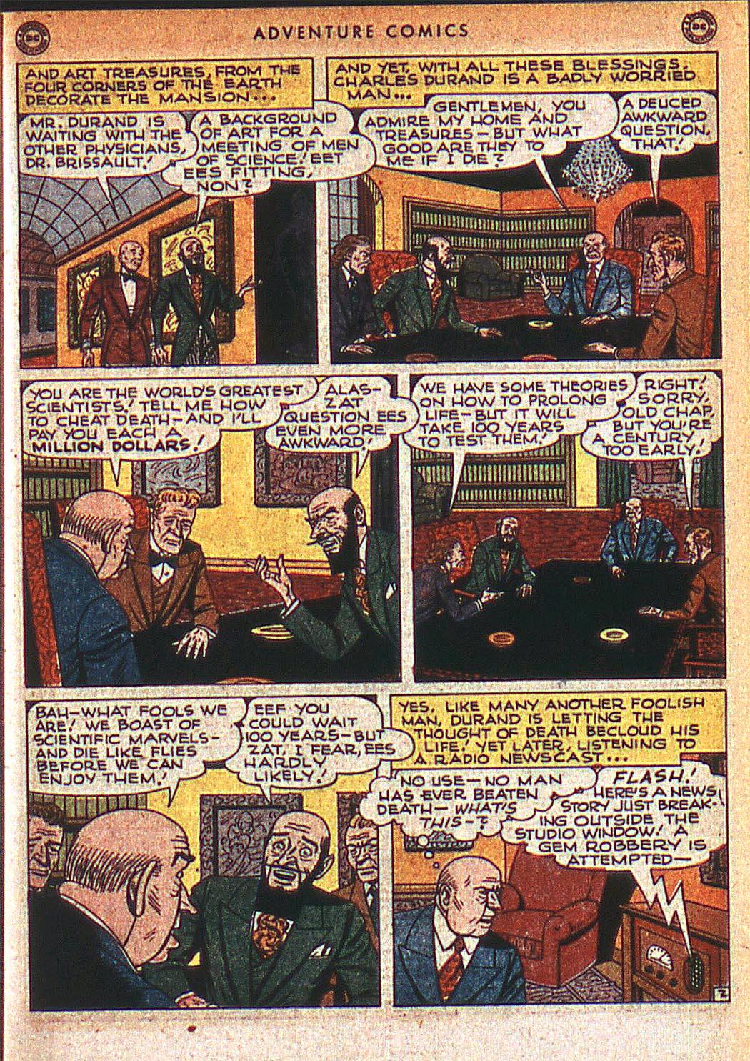 Read online Adventure Comics (1938) comic -  Issue #125 - 34