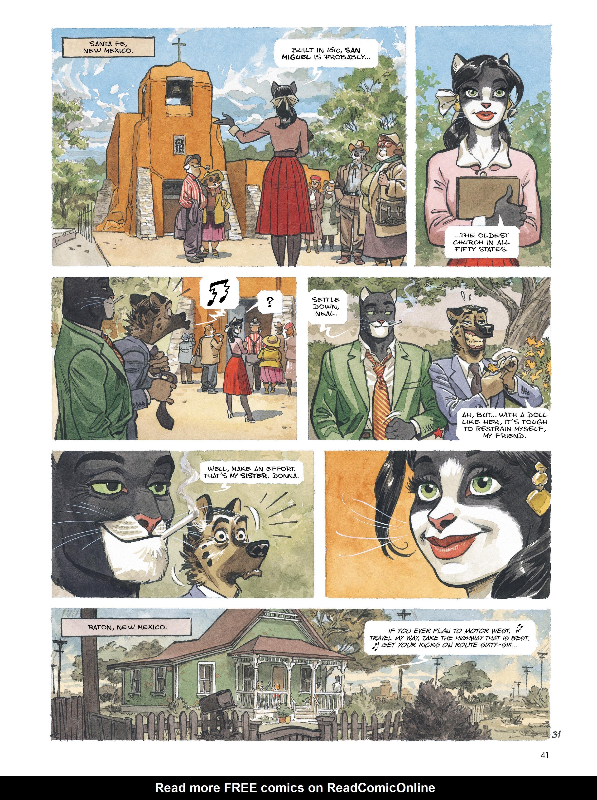 Read online Blacksad: Amarillo comic -  Issue # Full - 40
