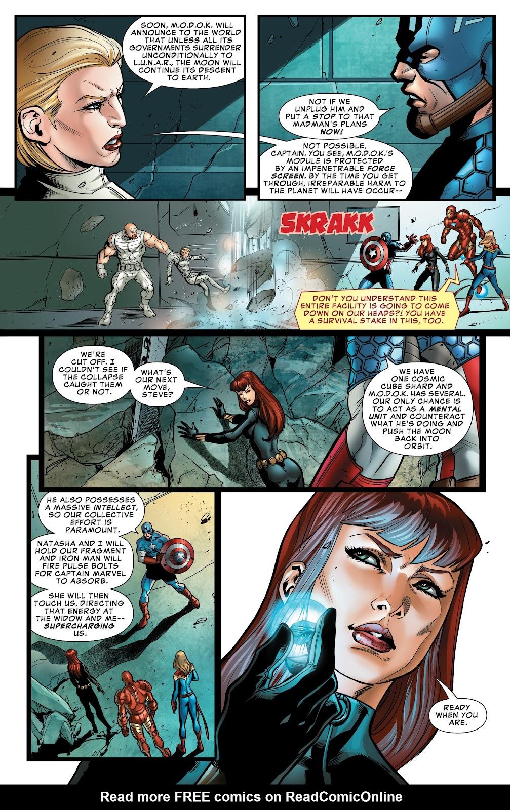 Read online Avengers: Edge of Infinity comic -  Issue # Full - 18