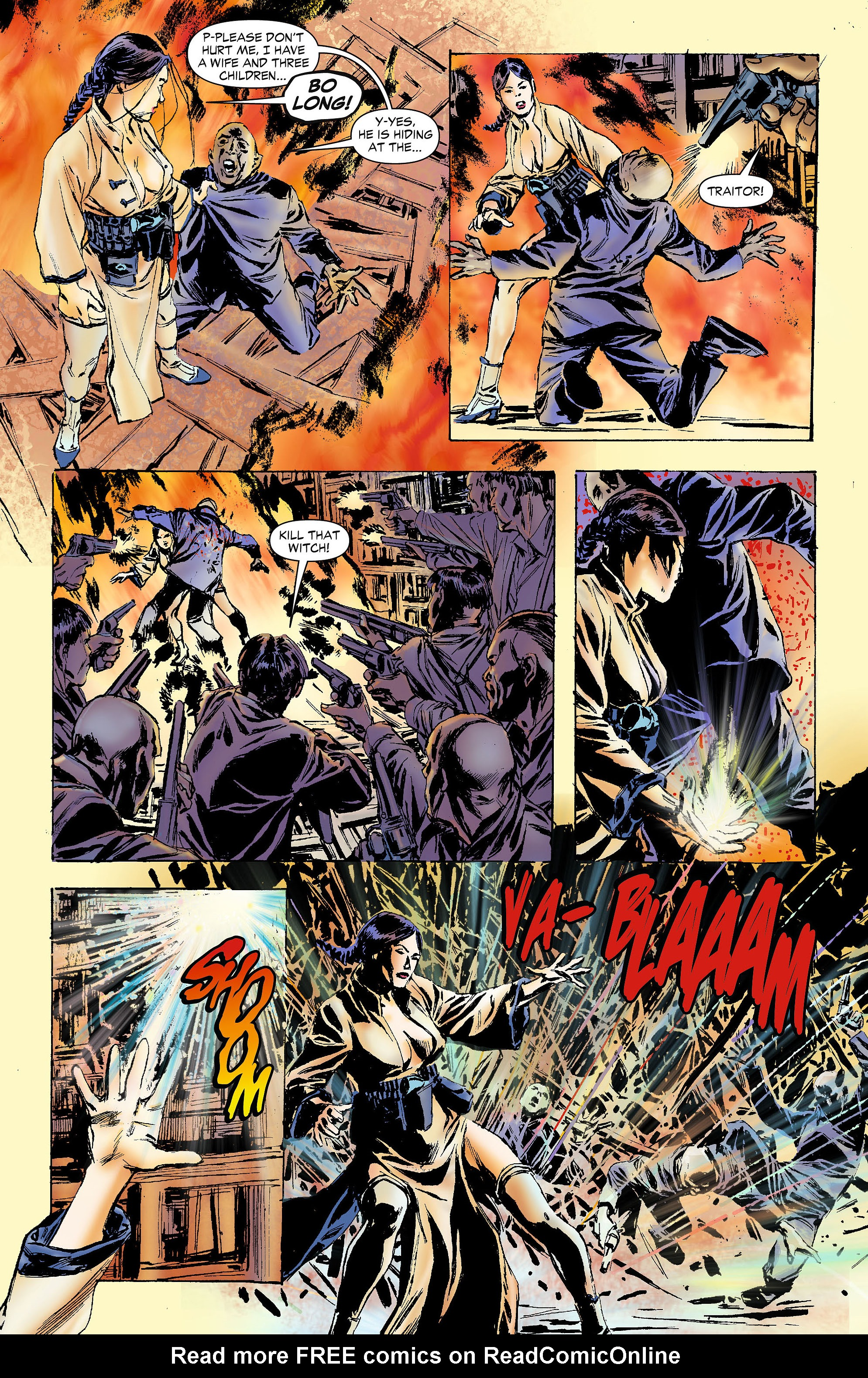 Read online All-Star Western (2011) comic -  Issue #4 - 24