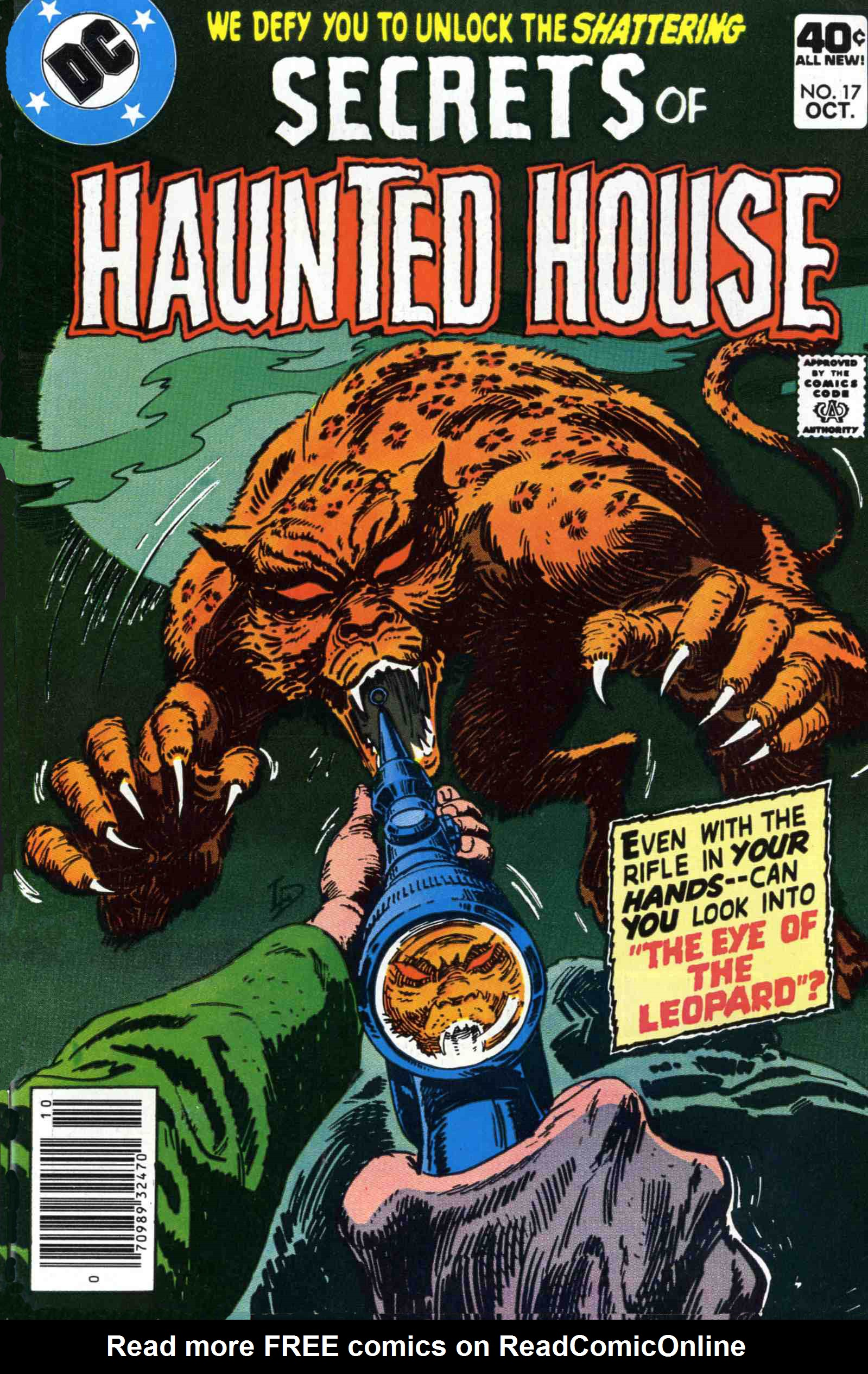 Read online Secrets of Haunted House comic -  Issue #17 - 1