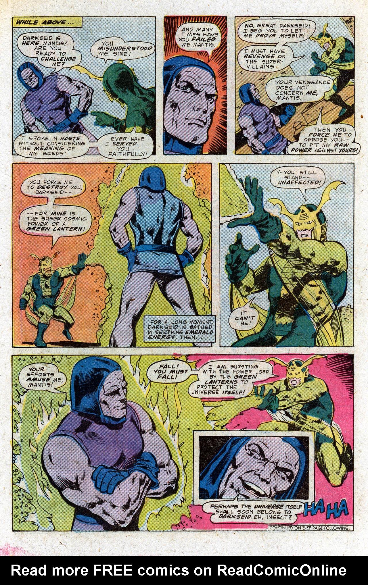 Read online Secret Society of Super-Villains comic -  Issue #4 - 21