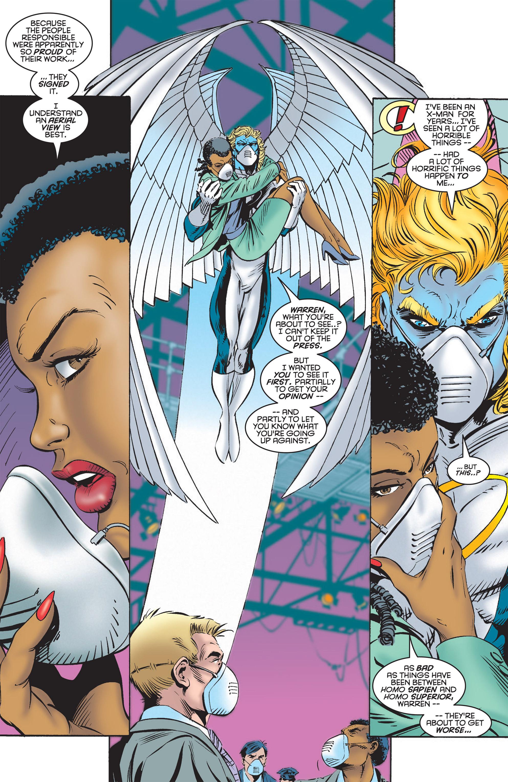 Read online Uncanny X-Men (1963) comic -  Issue #322 - 5