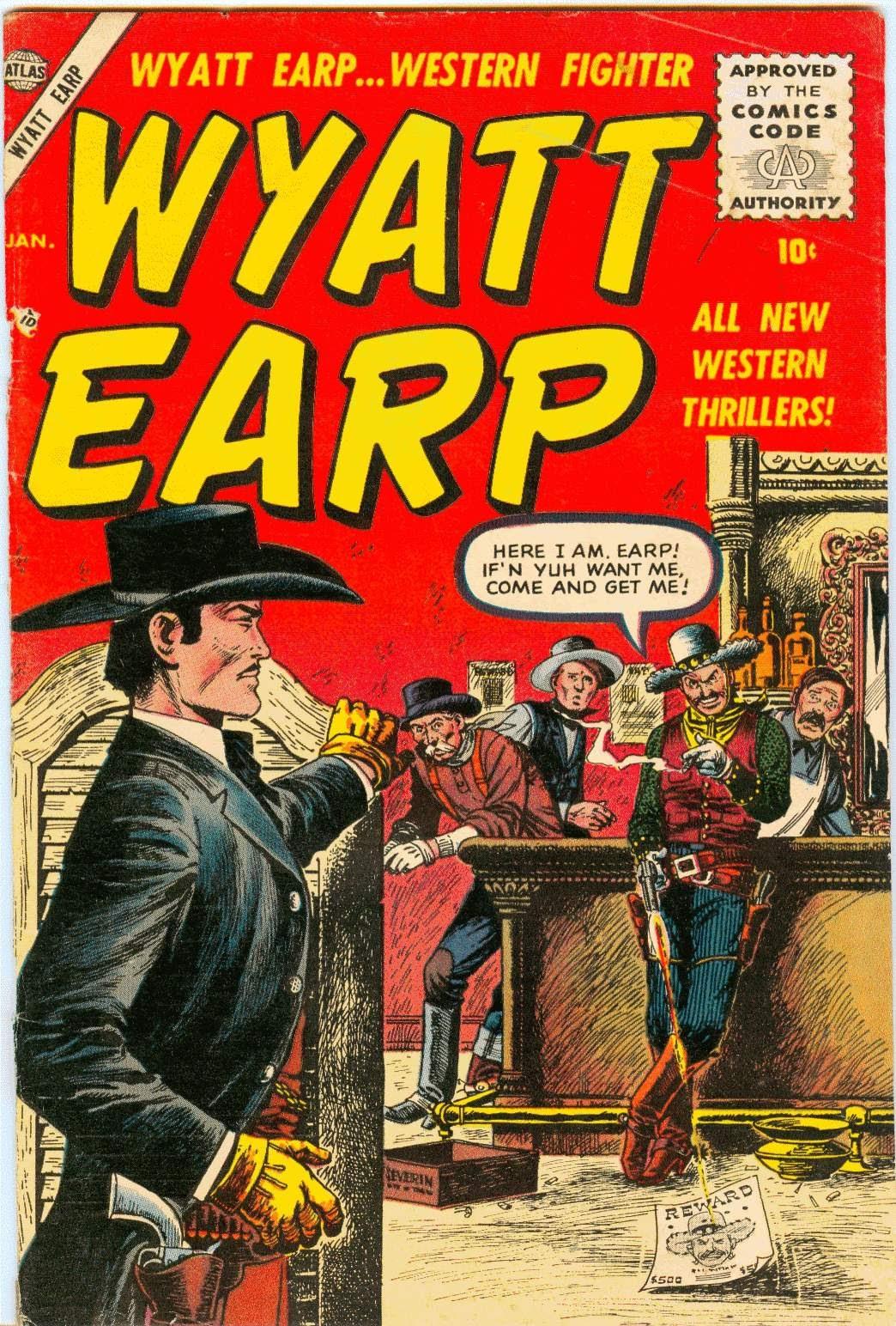 Wyatt Earp issue 2 - Page 1