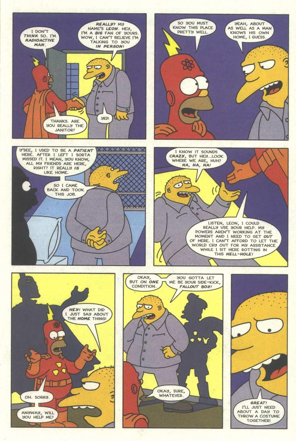 Read online Simpsons Comics comic -  Issue #31 - 16