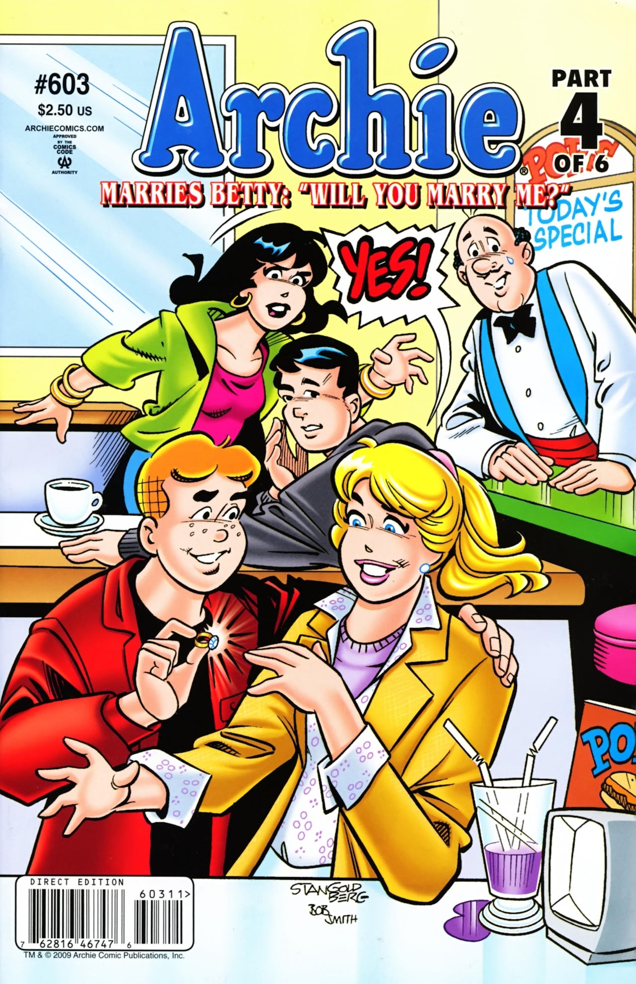 Read online Archie (1960) comic -  Issue #603 - 1