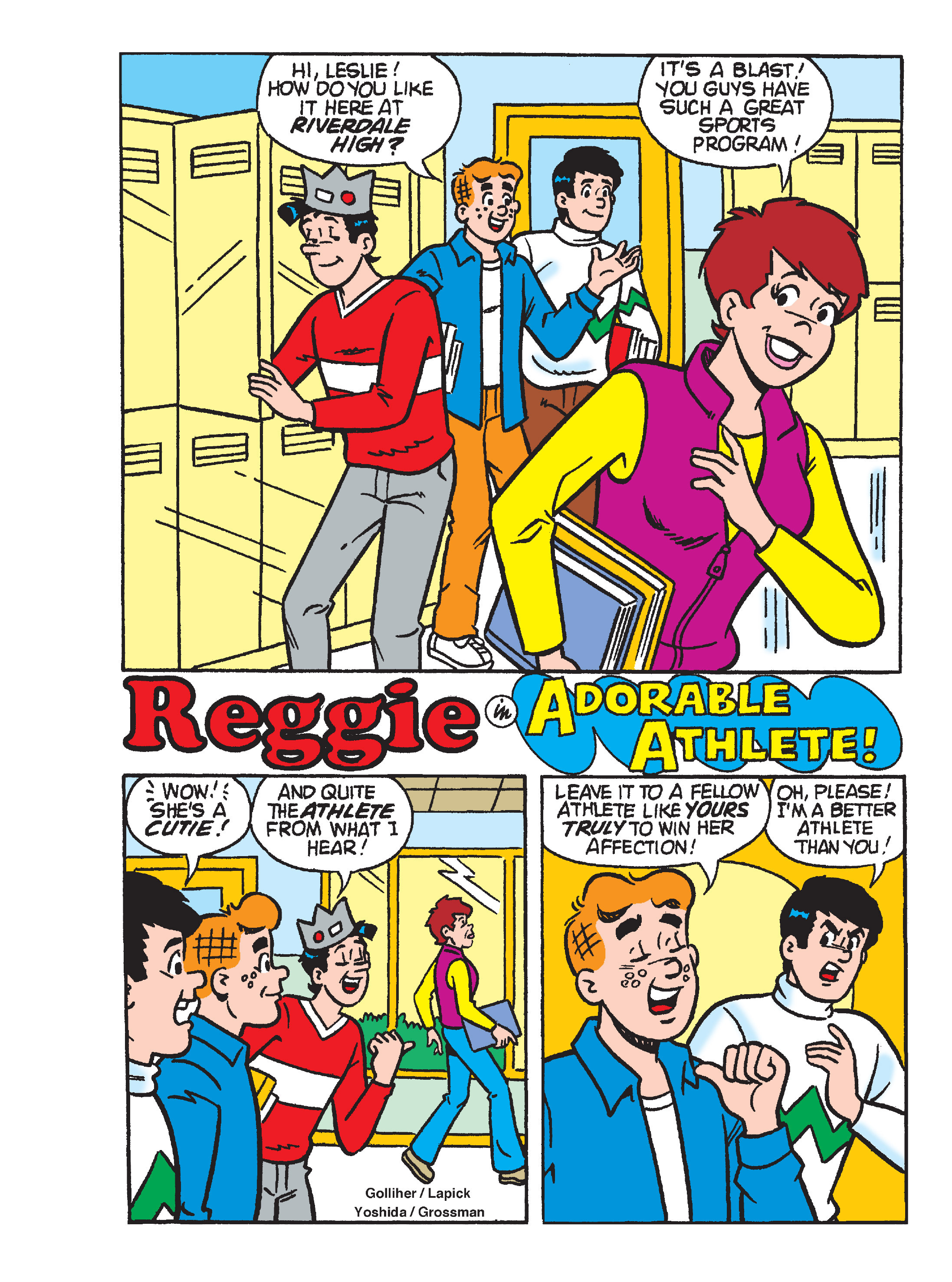 Read online Archie's Funhouse Double Digest comic -  Issue #17 - 115