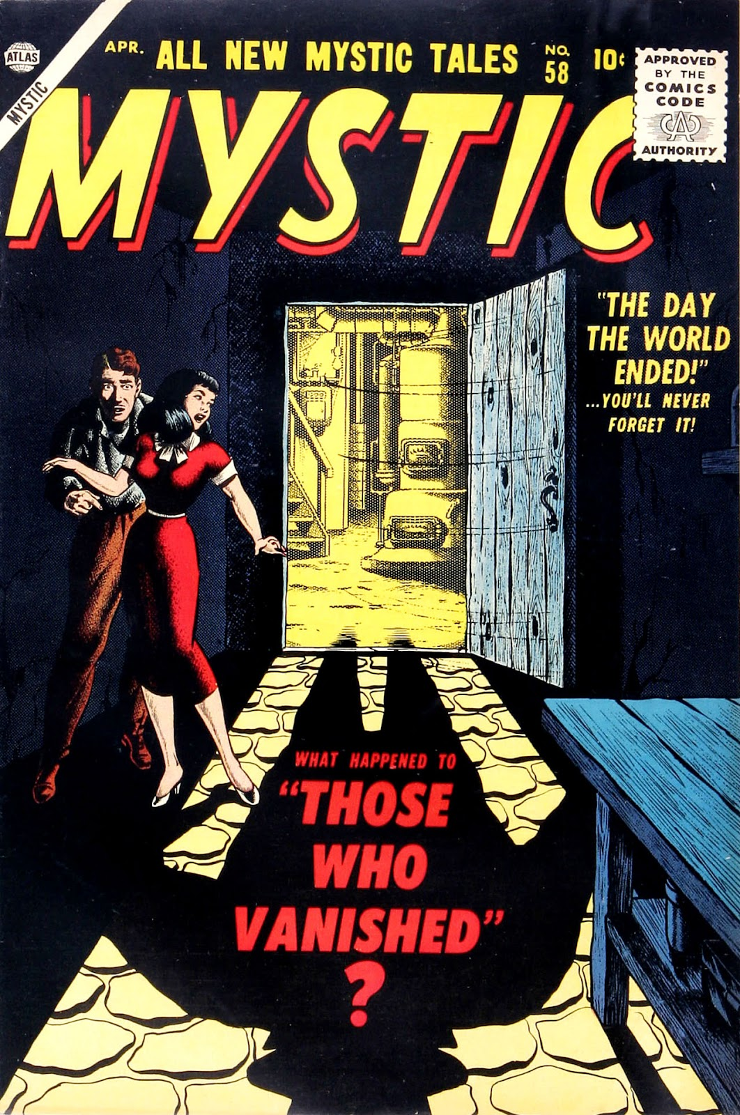 Mystic (1951) issue 58 - Page 1