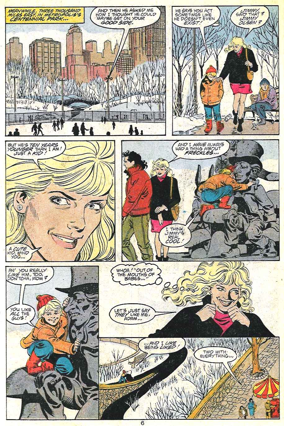 Read online Adventures of Superman (1987) comic -  Issue #441 - 7