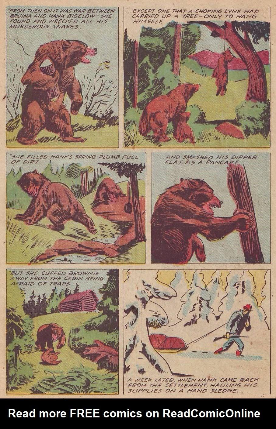 Read online Animal Comics comic -  Issue #28 - 31