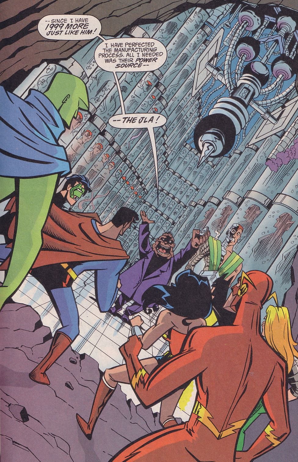 Read online Adventures in the DC Universe comic -  Issue #18 - 21