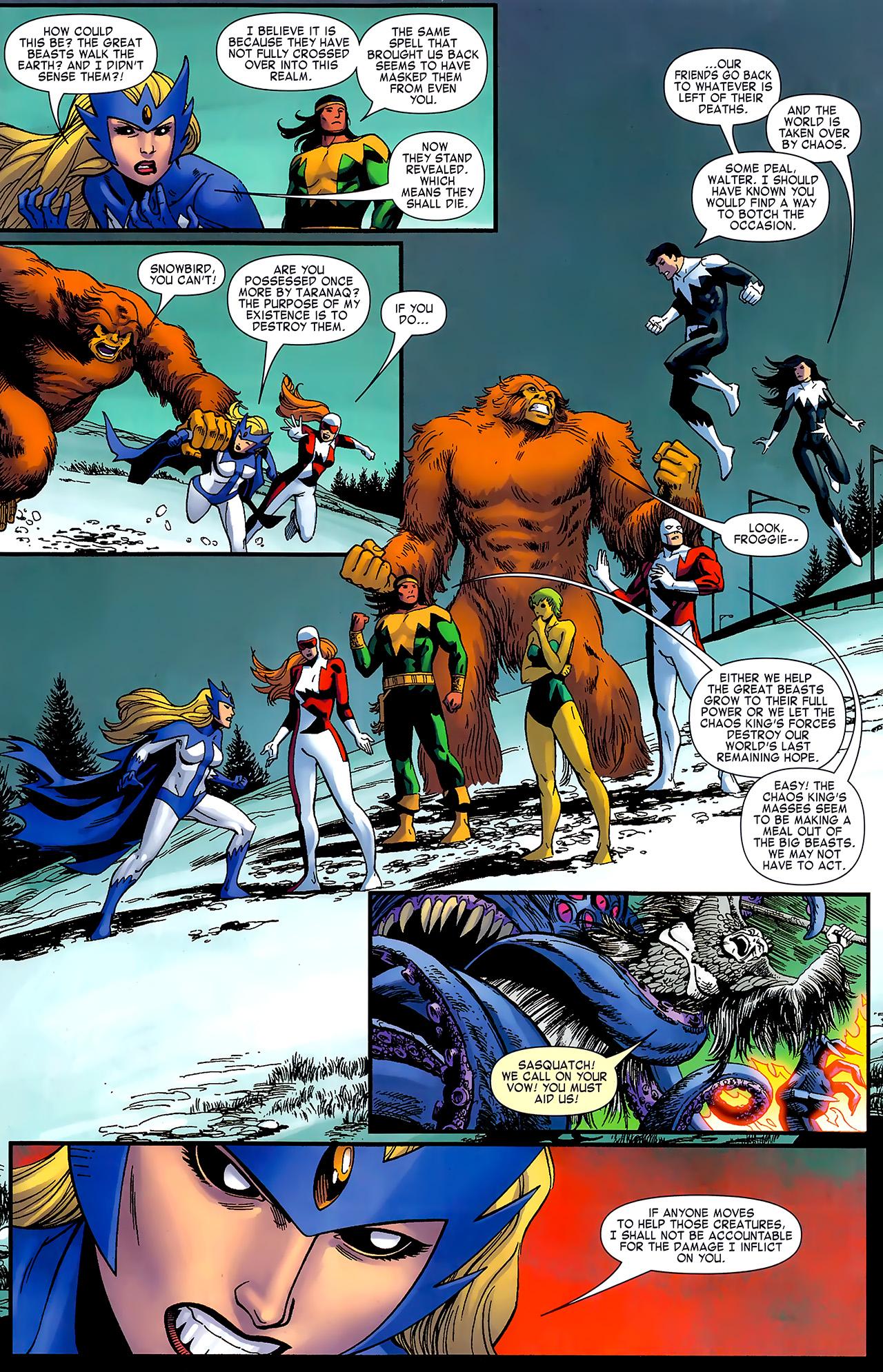 Read online Chaos War: Alpha Flight comic -  Issue # Full - 13